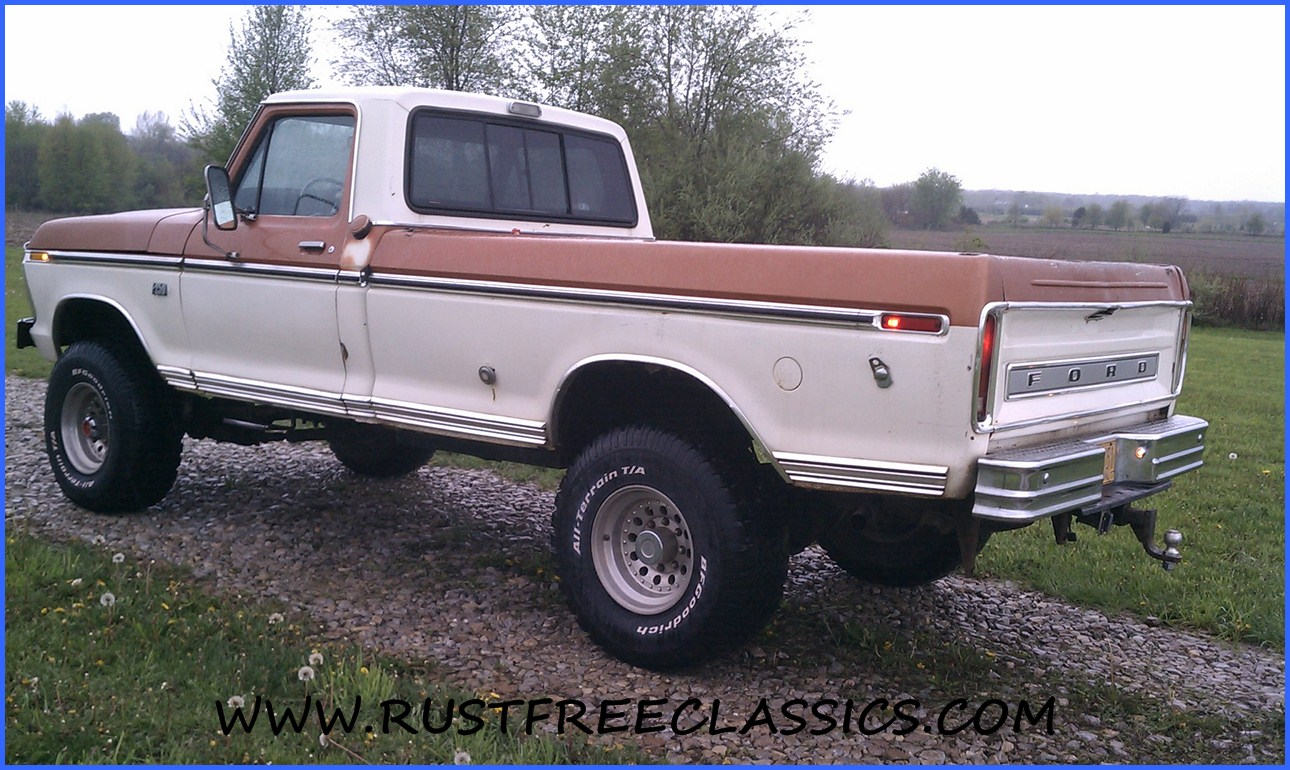 f250 highboy for sale http www rustfreeclassics com ford 1976 f250